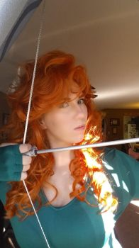 Cosplay for a Day Day 12 Merida by Elvishprincess25