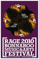 Kid Cudi Bonnaroo Poster by abcdzn