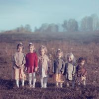 six sisters by AnnaGrazhdankina
