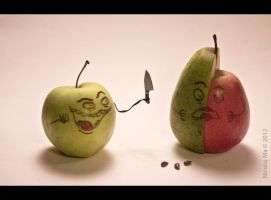 The Mad Apple #03 by matheist