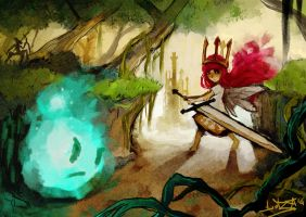 Child of Light by Teal-Lorca