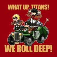 What Up Titans? We Roll Deep! by timberking