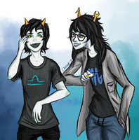 31 Day Homestuck Fanart Challenge- day 8 by Eritcha