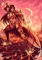 Save GTSV - Diana Valkyrie of Flames by zzzcomics