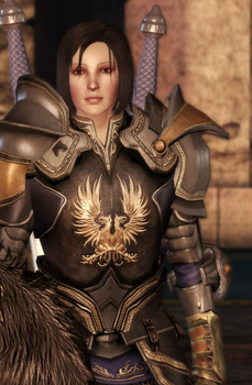 Taeryne of the Grey Wardens by Silver-Wings1000