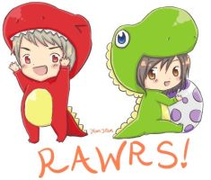 Rawr Means I Love You by a-panda-beah
