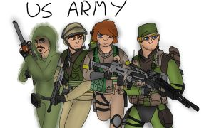Nostalgia Company: US Army by LBFable