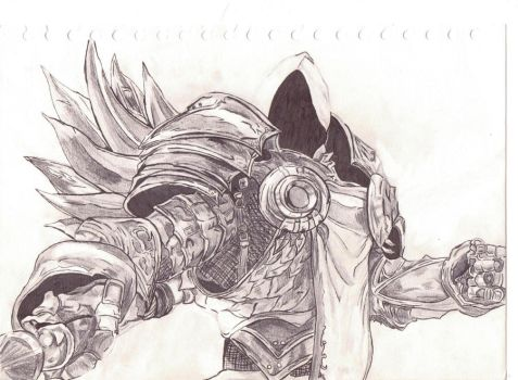 Tyrael by Undercoverpillow