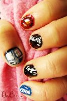 Eleventh Doctor Nail art -2 by ChainOfLight