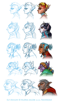 DAC profile challenge- elves by Rainroad