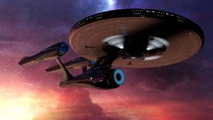 Enterprise (refit) 3 by The-Didact