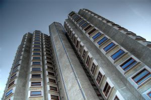 University Towers HDR by nat1874