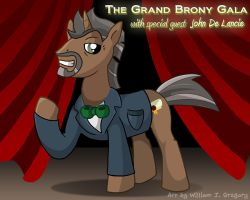 John De Lancie (Grand Brony Gala) by skull-boy666