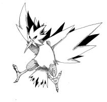 Day 19: Zapdos by MasterMinx
