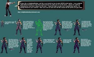 KOFXIII sprite tutorial by EnlightendShadow