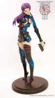 Misato in Plugsuit garage kit figure - normal by Michael-XIII