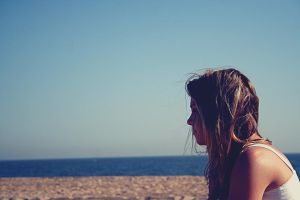 thoughts and the sea by maileroseland