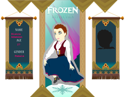 Frozen-Reflection Application: Bianca Adamsen by Lotus-Pen