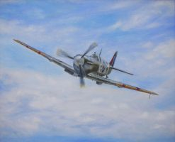 Spitfire Mk V by dashinvaine