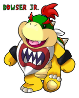 Bowser Jr. by Tails19950