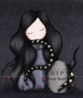RIP Dear Heart by gorjuss
