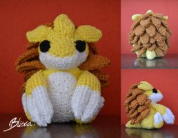 Crochet Sandslash by Blisca