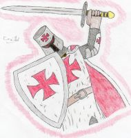 The Knights Templar by cdh1994