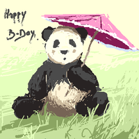 The panda by Sixio