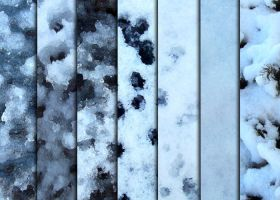 Snow and Ice Textures by sdwhaven