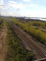 Railroad (View from the heights) by TR4Y