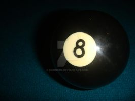 The Mysterious Eight Ball by neon280