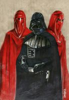 Vader sketch pin up by imaginante