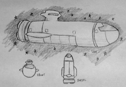 Flotation Device: Time to Name the Spaceship by Drawbba-The-Hutt