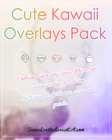 Cute Kawaii Overlays Pack by biancalovato