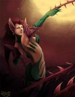 Mistress of Thorns by HatterMadness