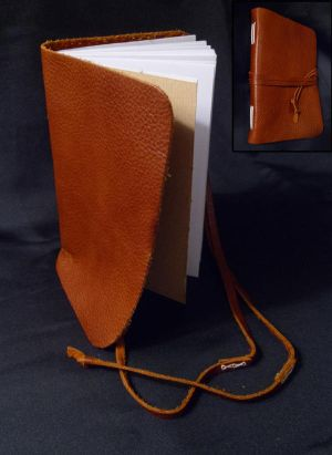Leather Journal 1 by TherisFaan