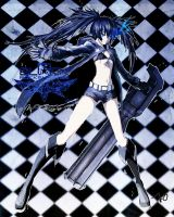 Black Rock Shooter by Shary-NAKO