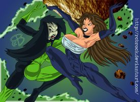Shego VS MW090 by RCBrock