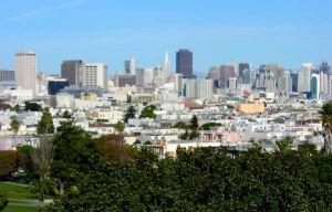 View from Dolores Park in S.F. by sidewalk-philosopher