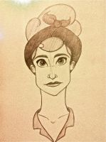 Concept character 1940's by Emmi-Lou-Art