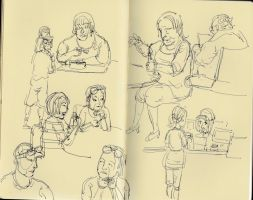 cafe sketch05 by yen-wen-hsieh