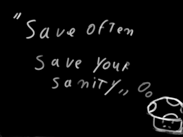 Save often by glaasje