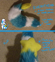 Ice's Fursuit Tail Finished by Ice-Artz