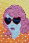 Heart-Shaped Glasses by Stardust-Splendor