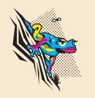 CMYK FROG by Man0uk