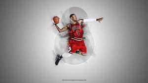 Derrick Rose Wallpaper by ronmustdie
