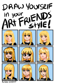 MEME DRAW YOUR FRIEND'S STYLE by Rumay-Chian