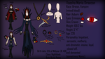 Vaesha Character Sheet by The-Serene-Mage
