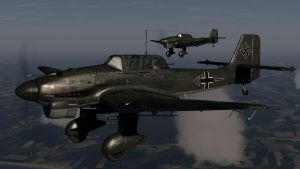 JU 87 -Stuka- over England. by Pokethulhu