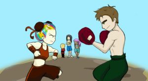 Fight by GrapeIcies
